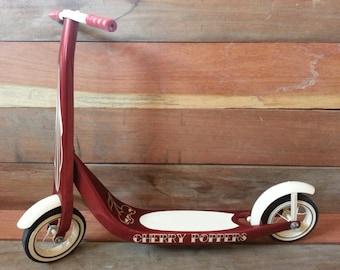 Radio Flyer vintage rockabilly scooter