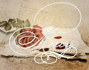 3 Fonts, Digital Fonts, Handwritten Font, Modern Calligraphy Font, Watercolor font, Wedding Font, Brush font. Instant Download. 20.