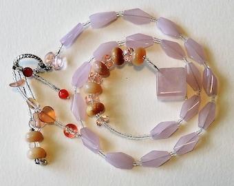 Baha'i Prayer Beads Pink