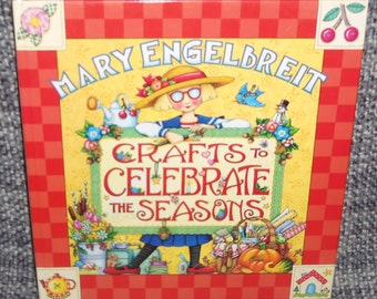 Mary Engelbreit Crafts To Celebrate The Seasons Hard Cover Book New