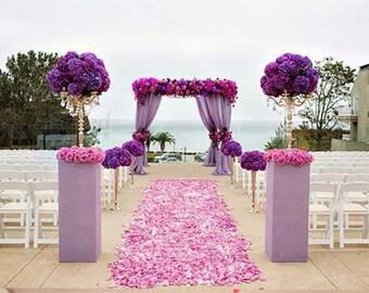 1,000 Pc Silk Rose Petals