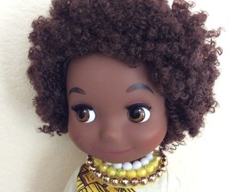 Its a Small world Disney Singing African Doll