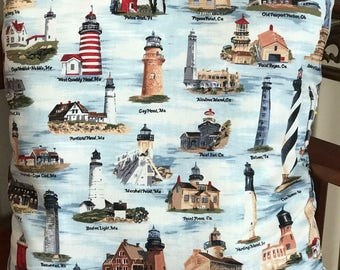 LOWER PRICES!  Famous Lighthouse Throw Pillows