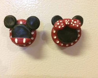 Mickey and Minney Magnets