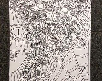 Drawing Doodle Art