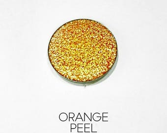 Pressed Glitter Eyeshadow 'Orange Peel'