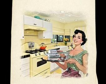 Classic Kitchen - Harvest gold Flour Sack Towel