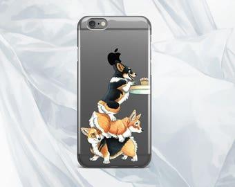 Corgi iPhone 7 Case puppy case iPhone 7 Plus case iPhone 6S Plus Case dog case iPhone 6 funny Samsung S8 Plus case Google Pixel XL case