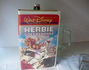 Herbie The Love Bug, VHS, Disney Graduation, Disney VHS, Disney VHS Movie, Classic Disney, Herbie Goes Bananas