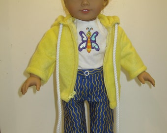"American Girl Doll ""Warm-Up"" suit"