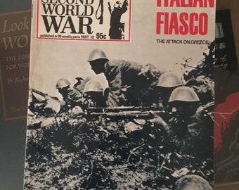 History of the Second World War, Part 10, Italian Fiasco // History Magazine //  WWII // history gift // gifts for him
