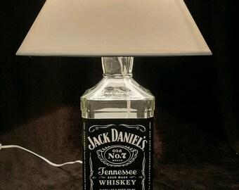 Jack Daniels desk lamp.