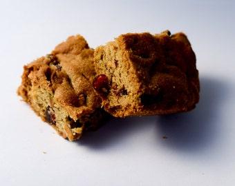 Cranberry Pistachio Cookie Bar