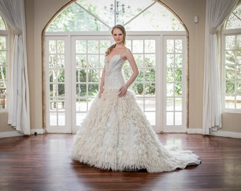 Mohair Couture Wedding Gown