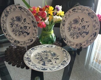 Royal Ironstone Plates Doorn collection 1950's