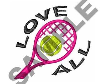 Love All - Machine Embroidery Design