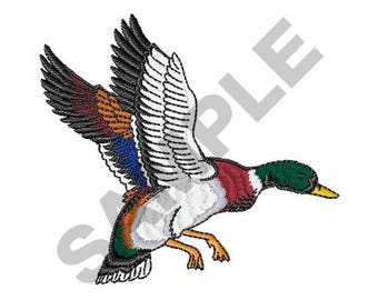 Mallard Duck - Machine Embroidery Design