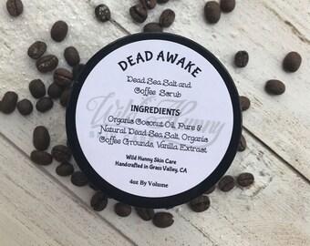 Dead Awake- Dead Sea Salt Scrub