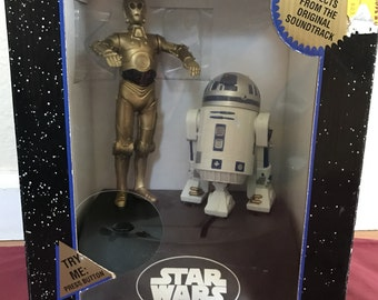 Star Wars 1997, C-3PO and R2-D2 Electronic Bank.