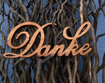 Wedding thank you photo shoot wood lettering