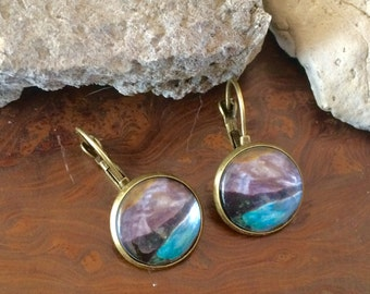 Bc Girl Bronze Mountain Earrings