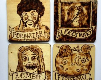 Character Coasters (set of 4)