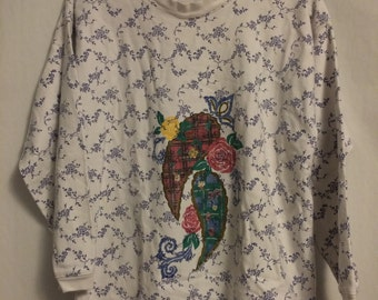 80's Vintage Gitano Flowered Shirt