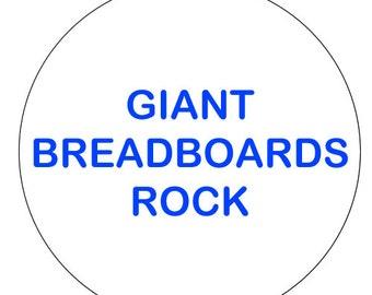 Giant Breadboards Rock