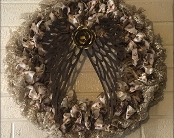 Angel Wing Wreath