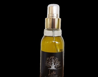 Greek Premium Extra Virgin Olive Oil sold directly from a producer 100ml elegant SPRAY bottle