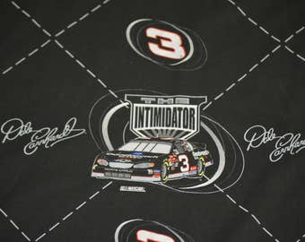 Dale Earnhardt #3 The Intimidator 100% Cotton Fabric by the Yard 2003 Nascar Racing