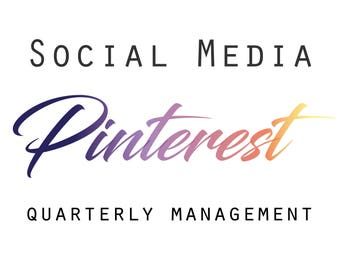 Pinterest Quaterly Management, Pinterest monthly management, Social Media Help, Pinterest Shop Help, Marketing Help, Social Media,