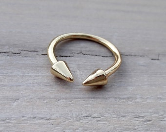 Ring design gold plated pic