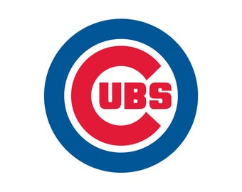 Chicago Cubs Cut Files, SVG Files, Baseball Clipart, Cricut Chicago Cubs Cutting Files, Baseball DXF, Clipart, Instant Download