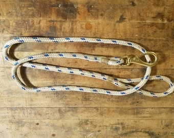 6 Foot Dog Leash Made From Sailboat Line