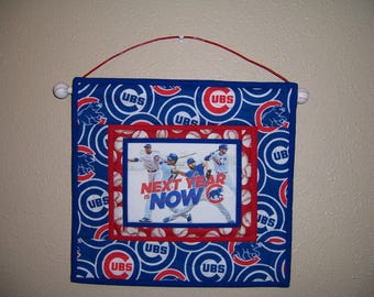 Chicago Cubs wall hanging