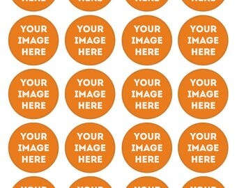 Your Own Photo Cupcake Toppers. Cupcake Edible Icing Print. 20 Cupcake Decorations