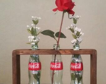 Coke Bottle Vase Shelf