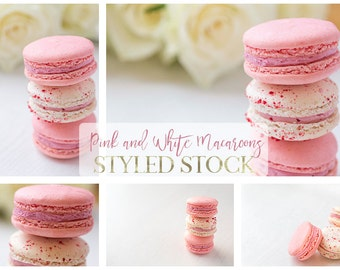 Macaroon photos, styled stock
