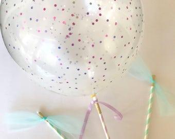 Balloons, Glitter Balloons, Balloon Wands, Party Balloons
