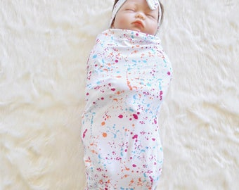 Cocoon Swaddle Sack, Baby Sleeping Sack, New Born Swaddle, Swaddle, sleep sack, swaddle wrap, headband, cocoon sack