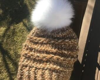 HEYDAY - Slouchy Pompom Hat