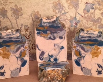 Lillybloom soap - Kiss the Sand - All natural soap, gifts for her or him