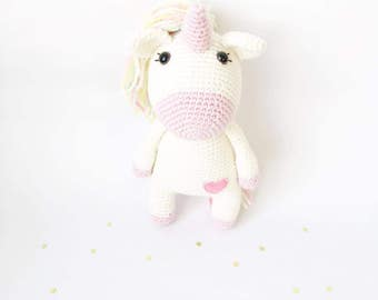 PATTERN - Loreen The Unicorn - amigurumi pattern, crochet pattern, PDF