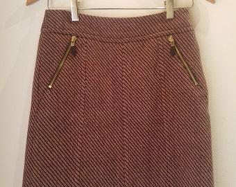 Ann Taylor Wool Skirt Size 0P