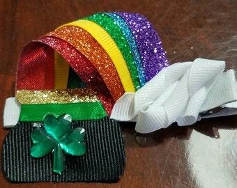 St Patrick's day rain bow  clip