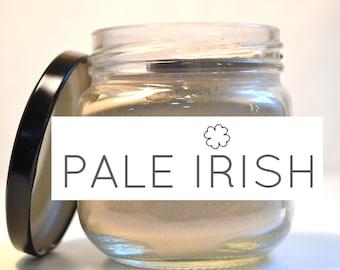 350g/ml (12.5oz) Pale Irish: Pure Bentonite Clay  - for Face Mask Acne Treatment, Food Grade