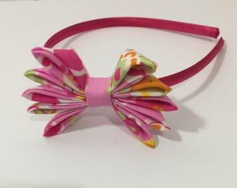 Hot Pink Children Headband
