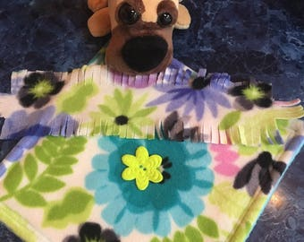 "Pet Blanket/Scarf, Fits like American Girl® Doll Clothes, 18 inch doll clothes, 18"" Doll Clothes, Pooch Pad"