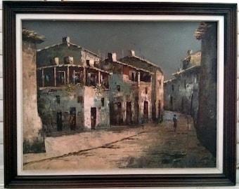 Old City. the Sabbath. Israel. Oil Painting. Impressionism. Shabbath, Shabbes, Shobos, Judaica